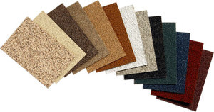 stucco color selection