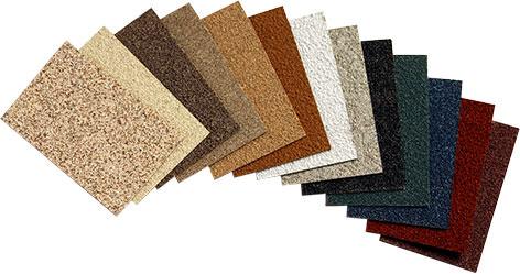 stucco color selection